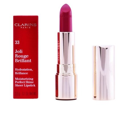 Clarins JOLI ROUGE BRILLANT pomadka 33 SOFT PLUM